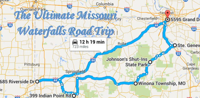 The Ultimate Missouri Waterfall Road Trip Will Take You To 7