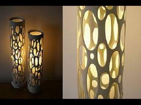 Como hacer una lampara con material reciclado 7 - Como hacer una lampara ...