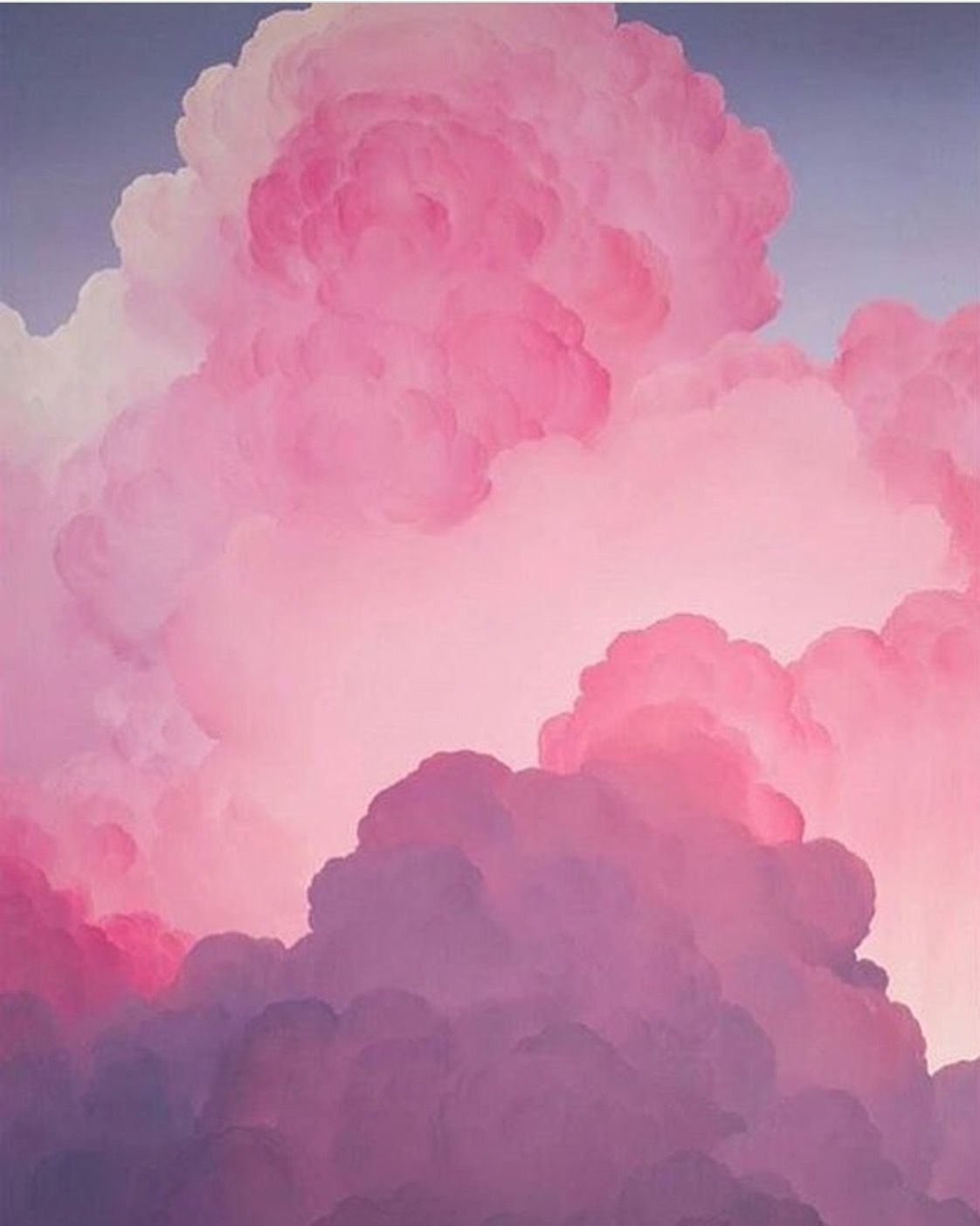 Iphone Wallpaper Aesthetic Pink Clouds