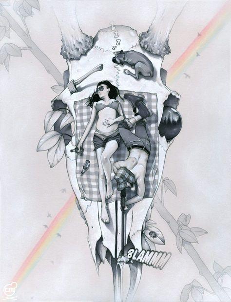 Inspiring Illustrations by Chris B. Murray
