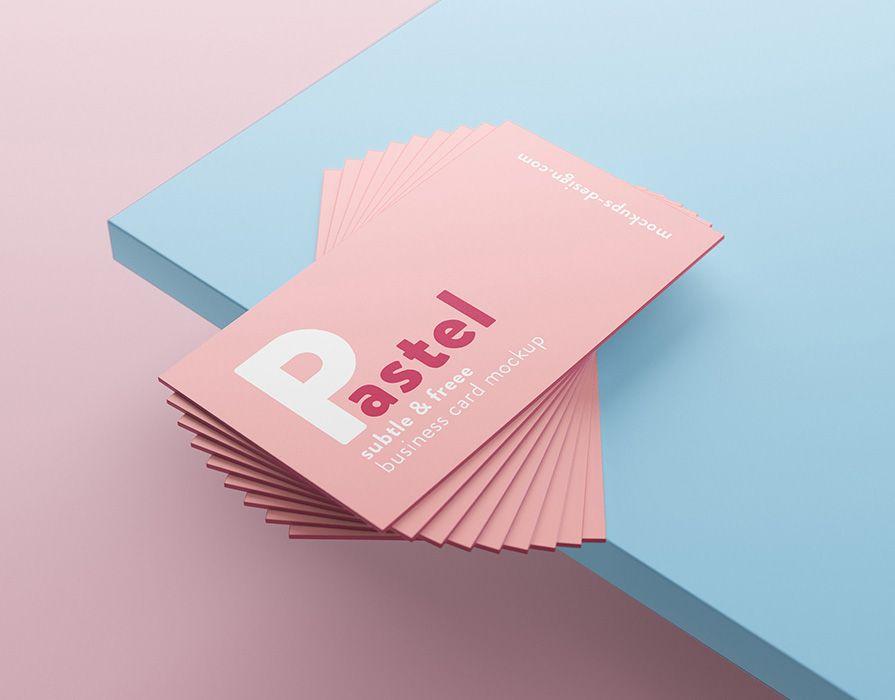 Vedi Questo Progetto Behance Free Business Cards Mockup Https Www Behance Net Gallery 6352569 Tarjetas De Presentacion Creativas Disenos De Unas Tarjetas