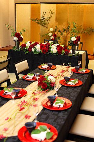 15a0c2525 Japanese Dinner Party, Wedding | 和会場 鈴蘭 -Suzuran-|熊本で披露宴会場なら「メルパルク熊本」