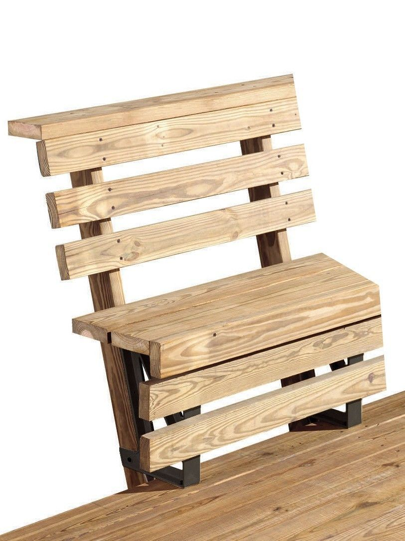 Tompkins deck bench bracket products pinterest deck bench and