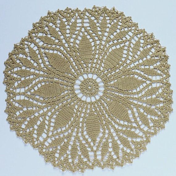 Vintage Crochet Doily Pattern - Skill level easy - Thread Crochet ...