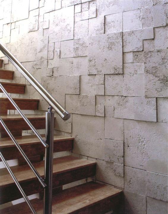 Piedras preformadas at rmica romana la cantera for Construccion de escaleras interiores