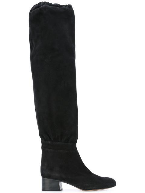 bd2fe8fd CHLOÉ 'Lena' over the knee boots. #chloé #shoes #boots | Chloé ...