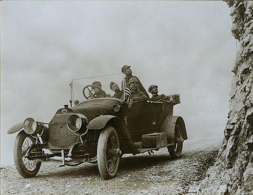 Viaje a los Alpes, 1913