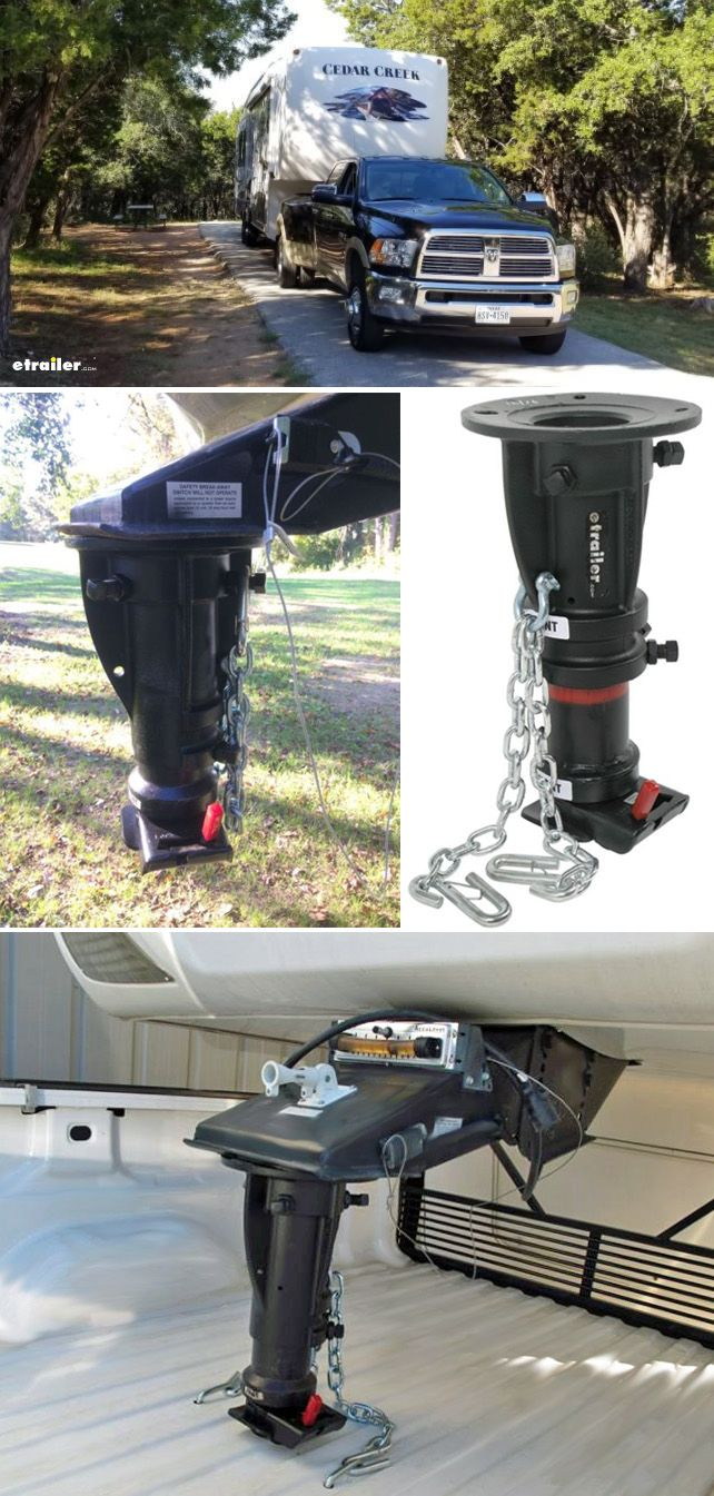 Convert A Ball Cushioned 5th Wheel To Gooseneck Adapter 12 To