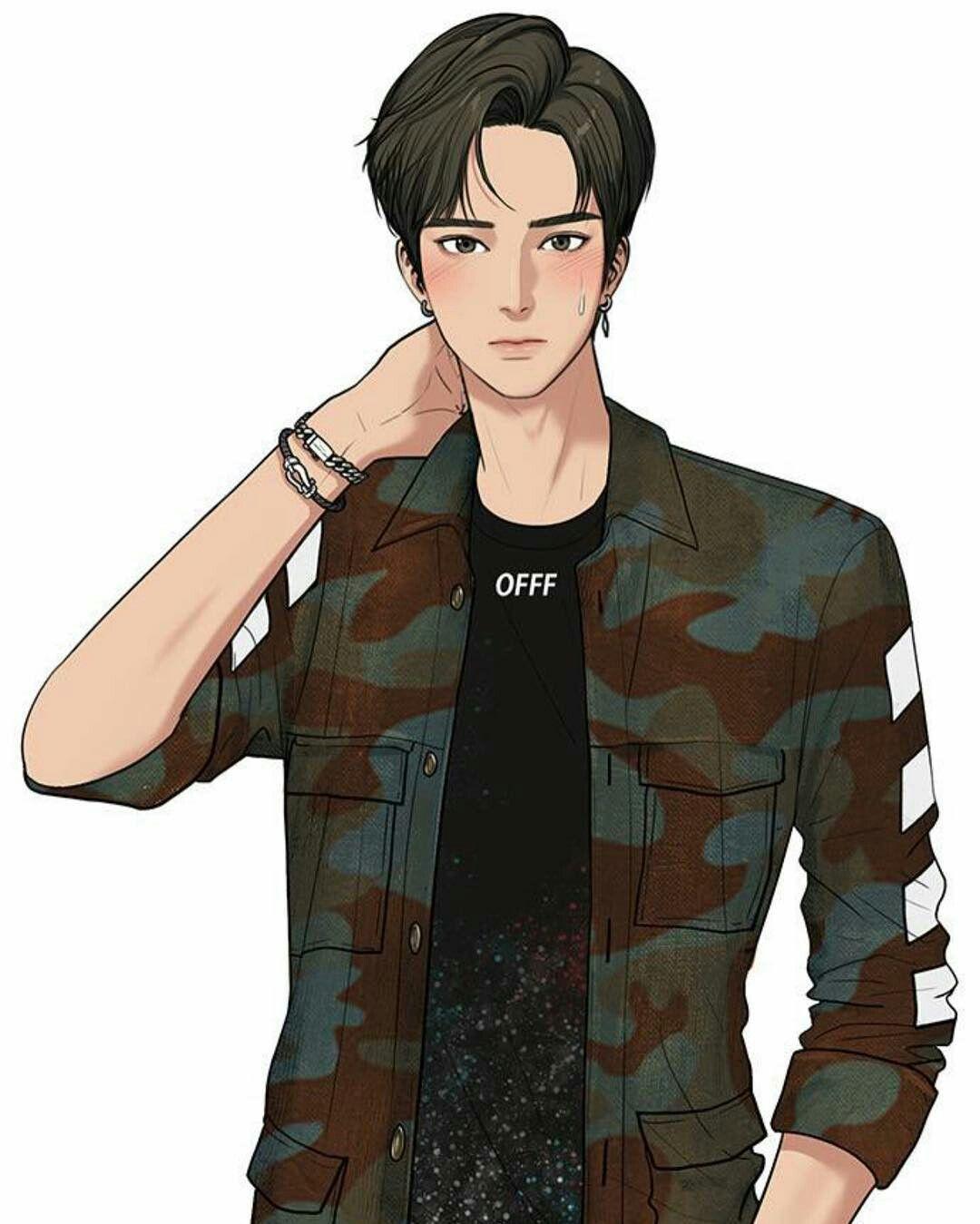 Suho Lee Orang animasi, Anime cowok ganteng, Webtoon