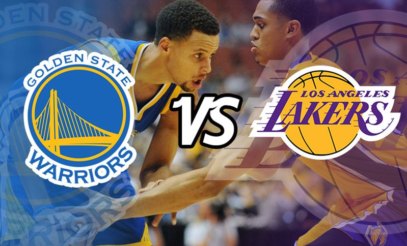 Golden State Warriors Vs Los Angeles Lakers Take The Kids Or Take Your Father Get It While Its Hot And Available Las Vegas Trip Lakers Vs Lakers Vs Warriors