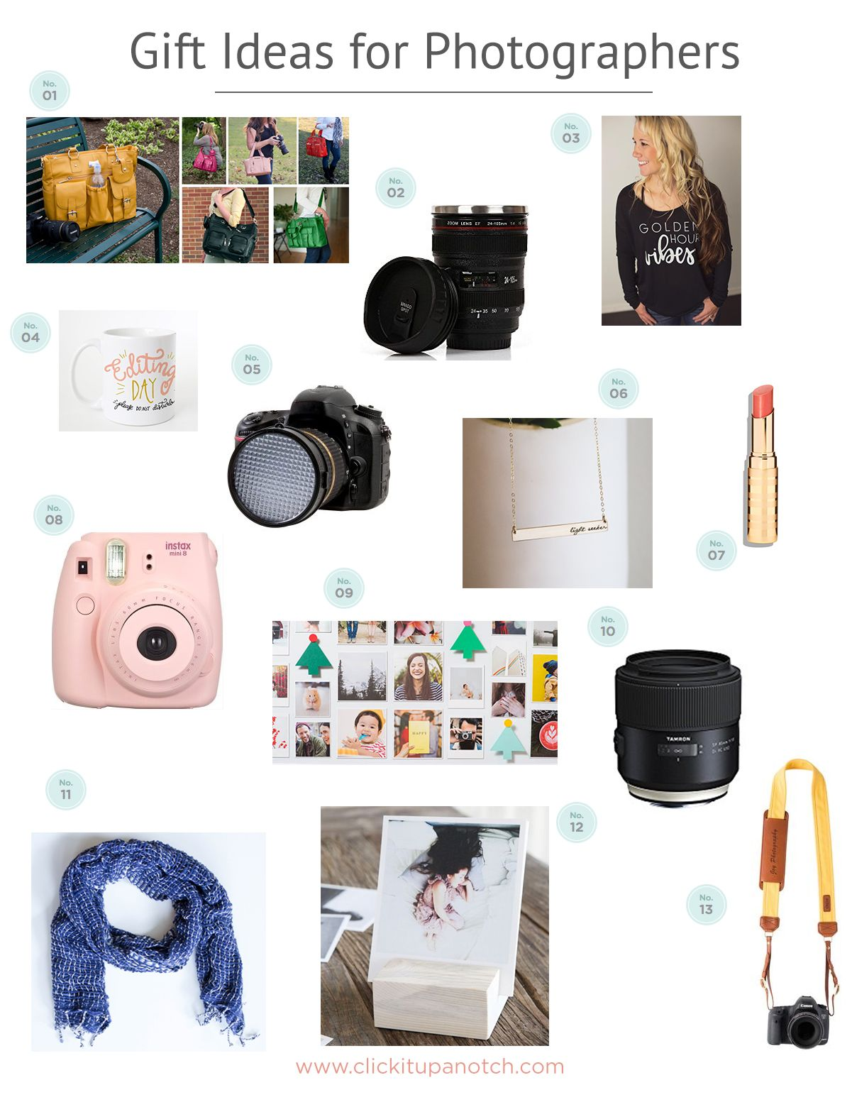 gift ideas for photographers | click it up a notch community