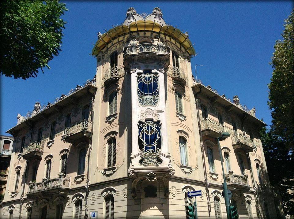 Foto della casa fenoglio lafleur di torino art nouveau for Casa moderna a torino