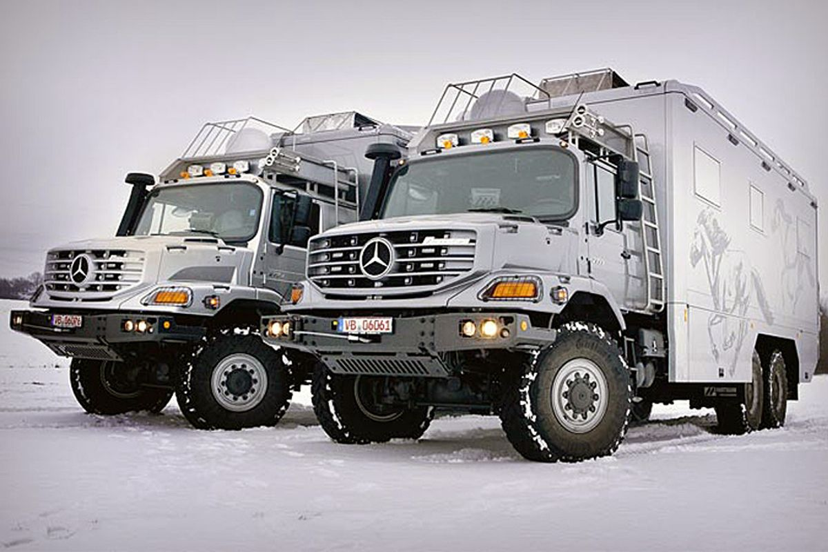 This Mercedes Benz Zetros Truck Is The Ultimate Extreme Machine
