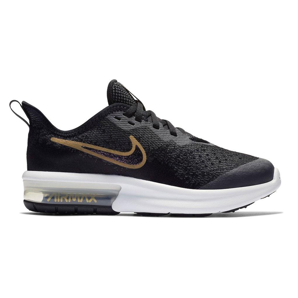 de6f5df053d611 Nike Air Max Sequent 4 Shield Grade School Girls  Water Resistant Sneakers