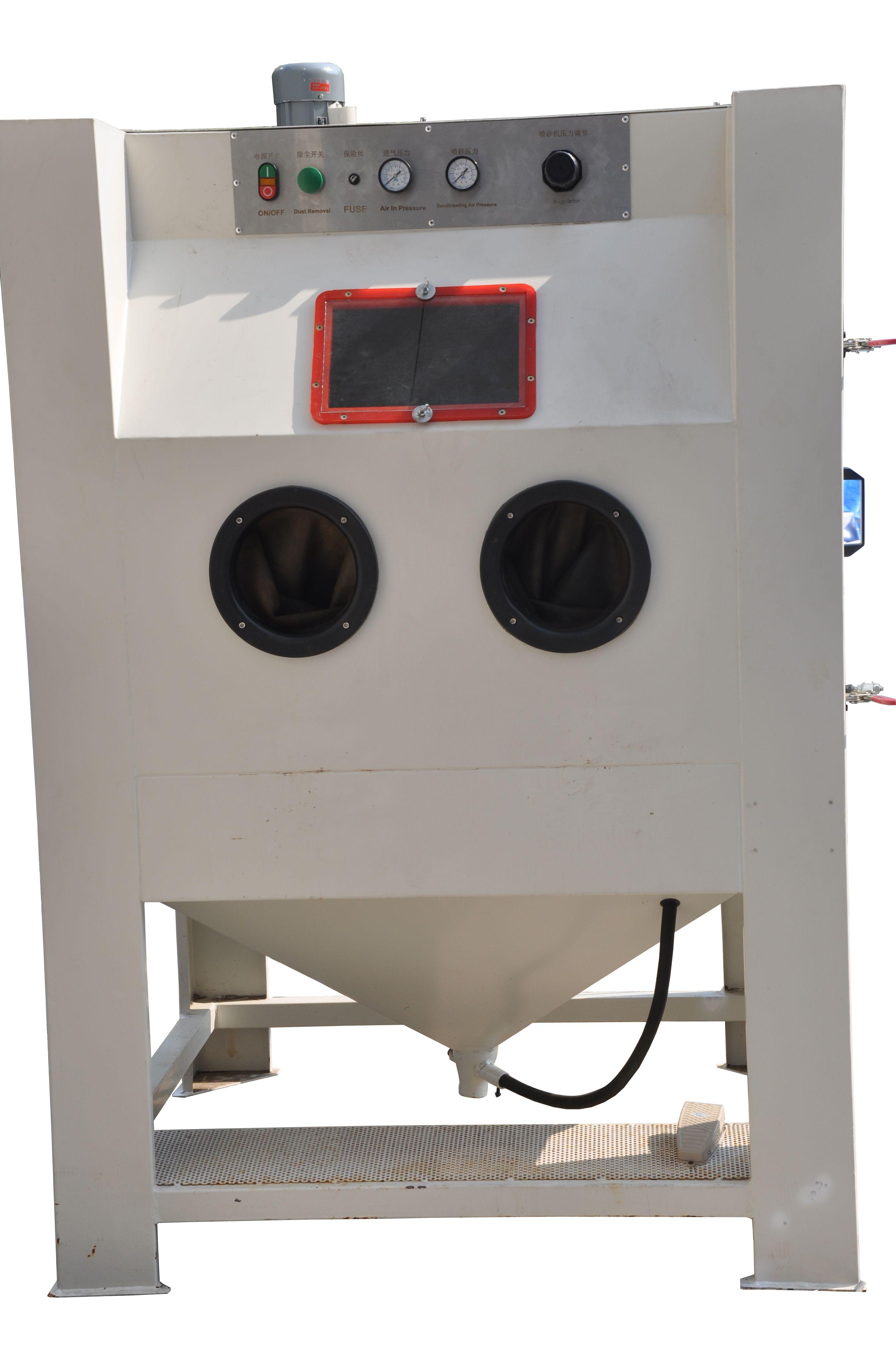 Suction Blast Cabinet Most Widely Used For Sandblasting Job Simple Structure And Econom Powder Coating Machine Powder Coating Equipment Sand Blasting Machine