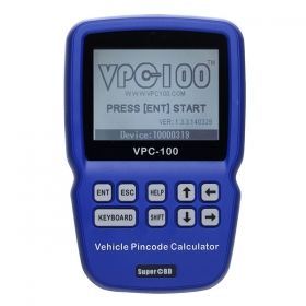 209 00 Vpc 100 Vpc100 Vehicle Hand Held Pin Code Calculator 500 Tokens Key Programmer Car Diagnostic Tool Vpc