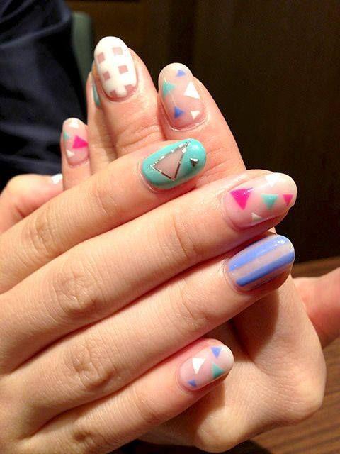 Pin by Kathryn Beavers on nails. | Pinterest | Minimalist nails ...
