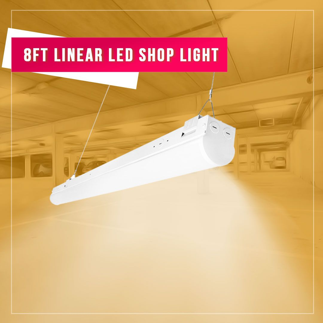 Linkable Led Linear White Light Presents Your Room In Its True Colors To Create A Productive And Vibran Led Lights Led Commercial Lighting Led Outdoor Lighting
