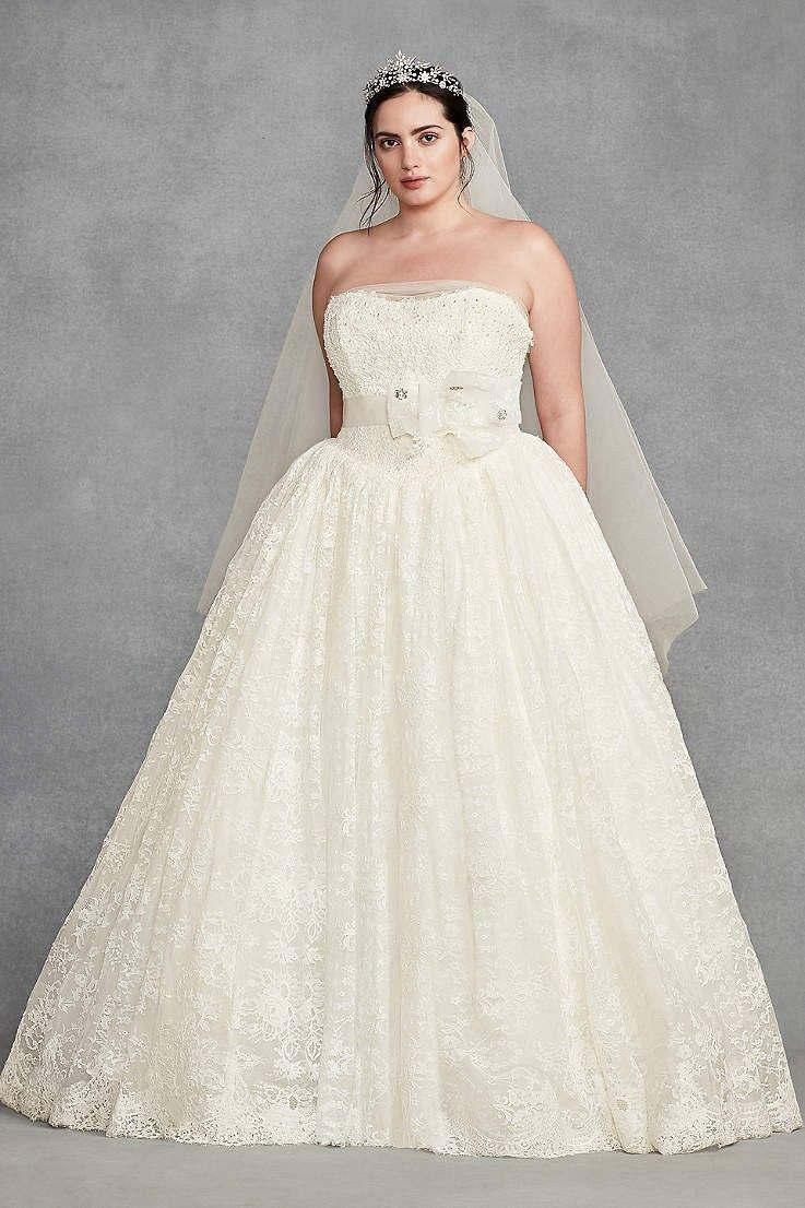 Vera wang plus size wedding dresses  Pin by BonnieAnne Johnson on Wedding Dresses  Pinterest  Wedding