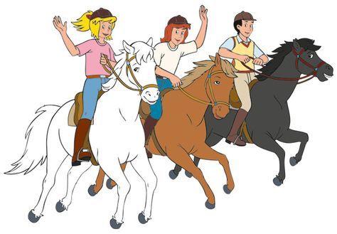 bibi und tina ausmalbilder pferde - ausmalbilder für kinder … | bibi und tina, ausmalbilder
