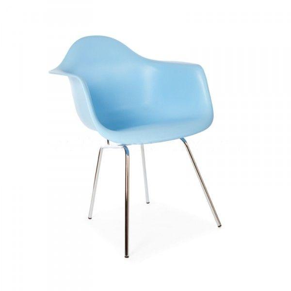 Vitra Eames DAX stoel met zitkussen (nieuwe afmetingen