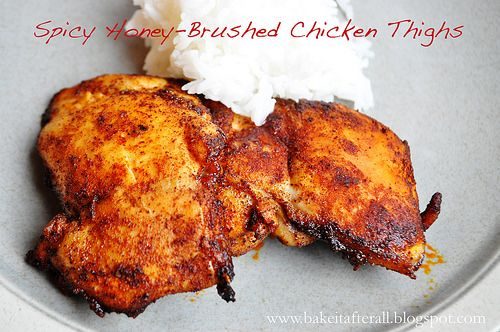 Spicy Honey-Brushed Chicken Thighs (MSPI)