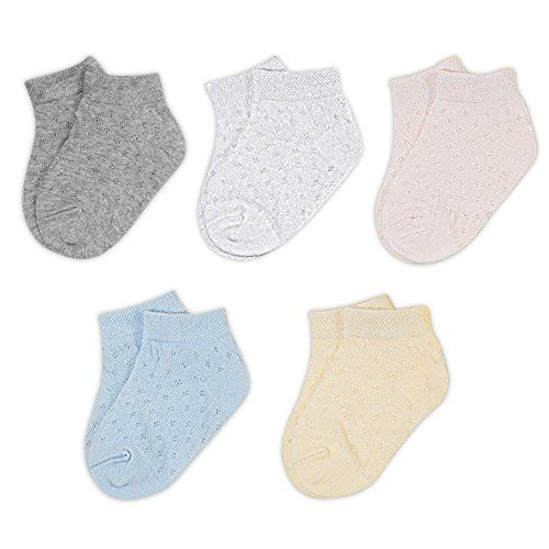4 colors to choose from Baby Socks Ankle Socks Pack of 5