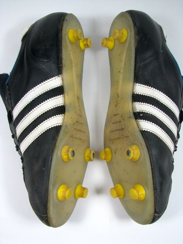 48d2973b7 vintage ADIDAS INTER Football Boots size uk 9  43+ rare 70s OG made ...