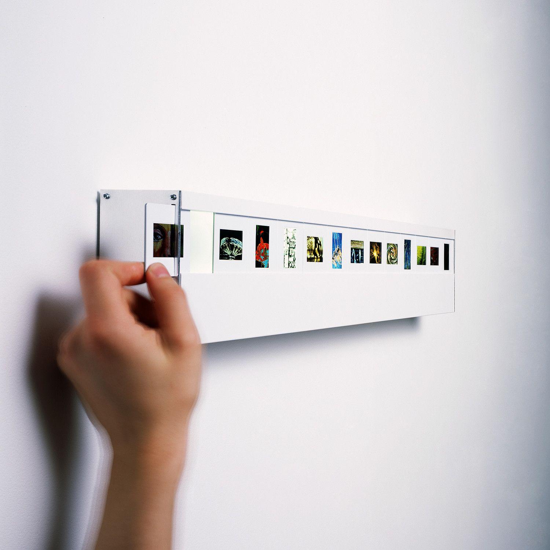 slide light such a fab idea use old slides or make new slides