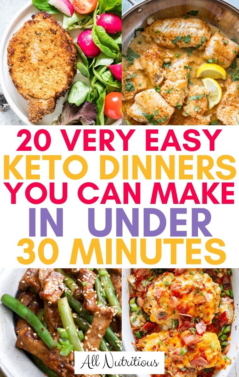 Photo of 20 Quick Keto Dinners in Under 30 Minutes