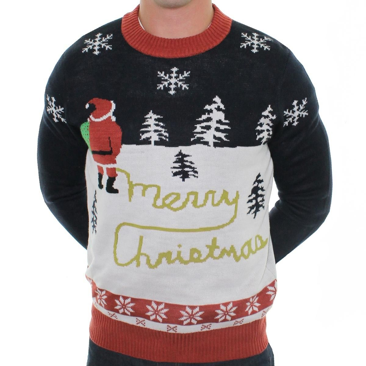 Men\'s Yellow Snow Ugly Christmas Sweater | Ugly Christmas Sweaters ...