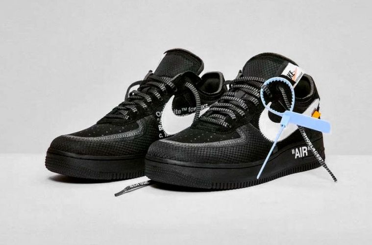 591a1f5a Где купить кроссовки Off-White x Nike Air Force 1 «Black» и «Volt ...