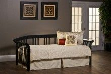 Hillsdale Dorchester Black Finish Sleigh Daybed- Bedroom ...