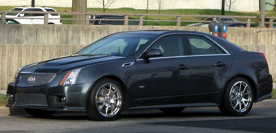 2nd gen Cadillac CTS-V. Official 0-60 mph time for the second ...