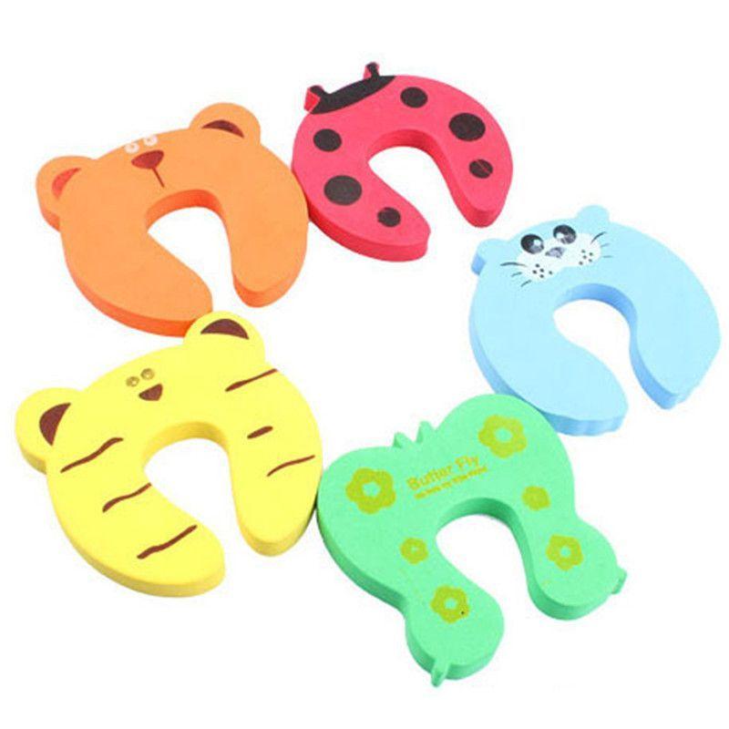 4x Protector Baby Finger Jammers Stop Door Stopper Lock Pinch Guard Kid Safe New