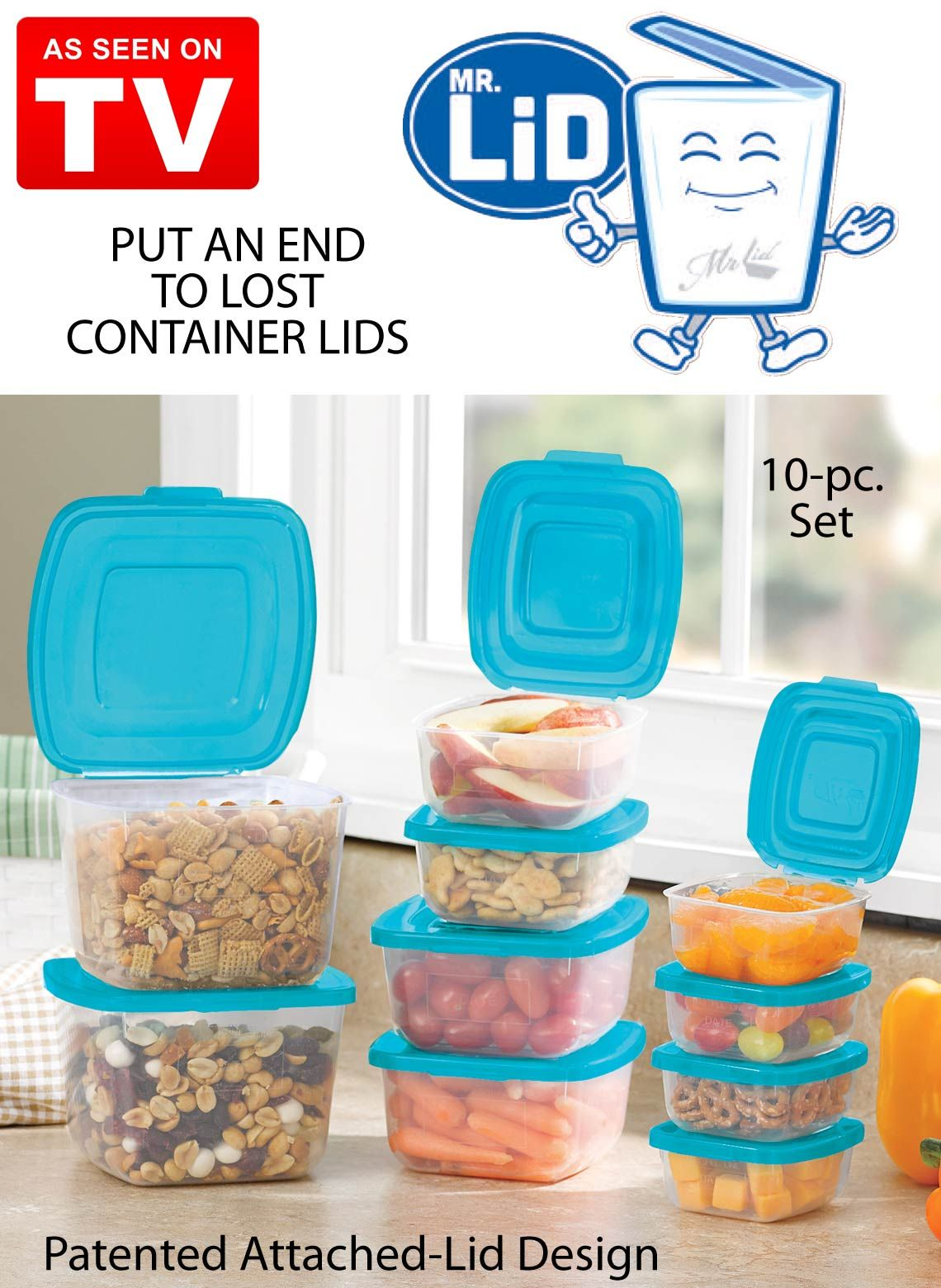 Superb Simplify Your Kitchen With The Food Storage System That Saves You Time And  Space. These Sleek Containers Feature A Patented Attached Lid Design So  Youu0027ll ...