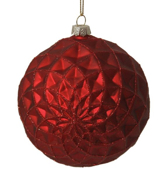 Glass ball, Cranberry Collection