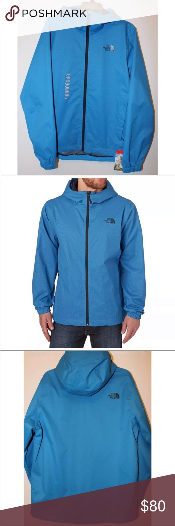 The North Face Men S Quest Waterproof Jacket Blue Waterproof Jacket North Face Mens Jackets [ 1740 x 580 Pixel ]