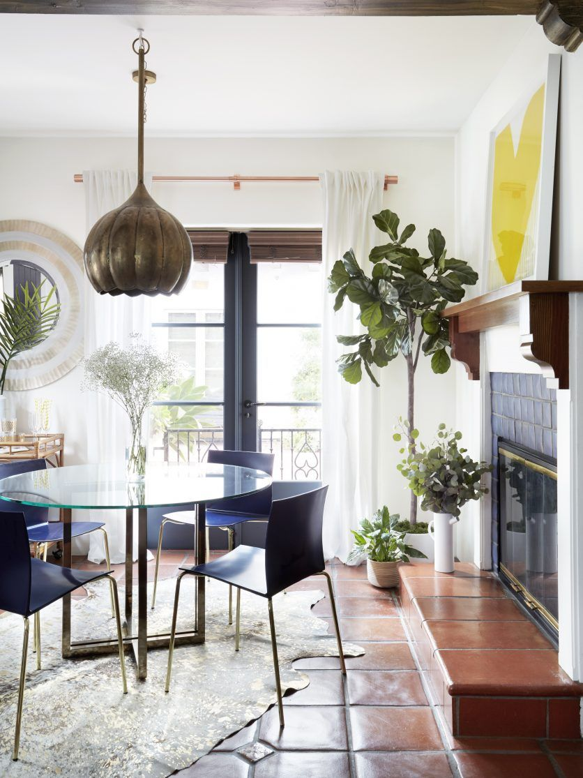 California Spanish Apartment Gets A Colorful Modern Home Makeover ...