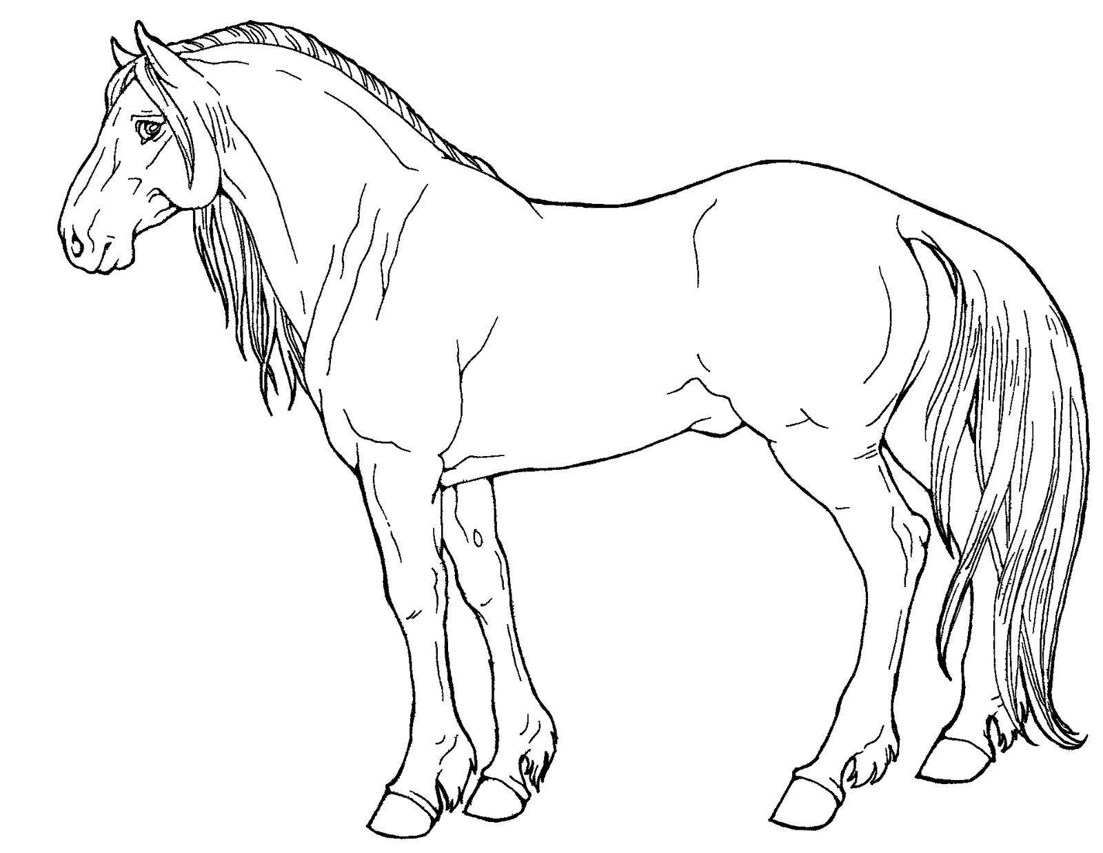 Free Line Art Mustang By Applehunter On Deviantart Line Art Art Kids Colouring Printables [ 1238 x 1600 Pixel ]