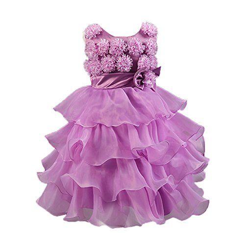 Vlunt Maedchen Hochzeit Party Kleid Kind Baby Kleid fuer ... https ...