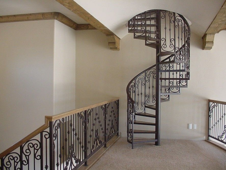 Space Saving Spiral Staircase For Small House Furniture :: Toobe8