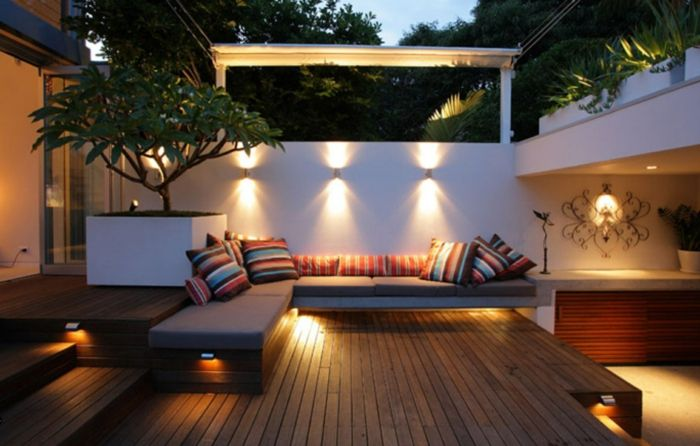 ▷ 1001 + ideas de decoración de terrazas con encanto Patios and