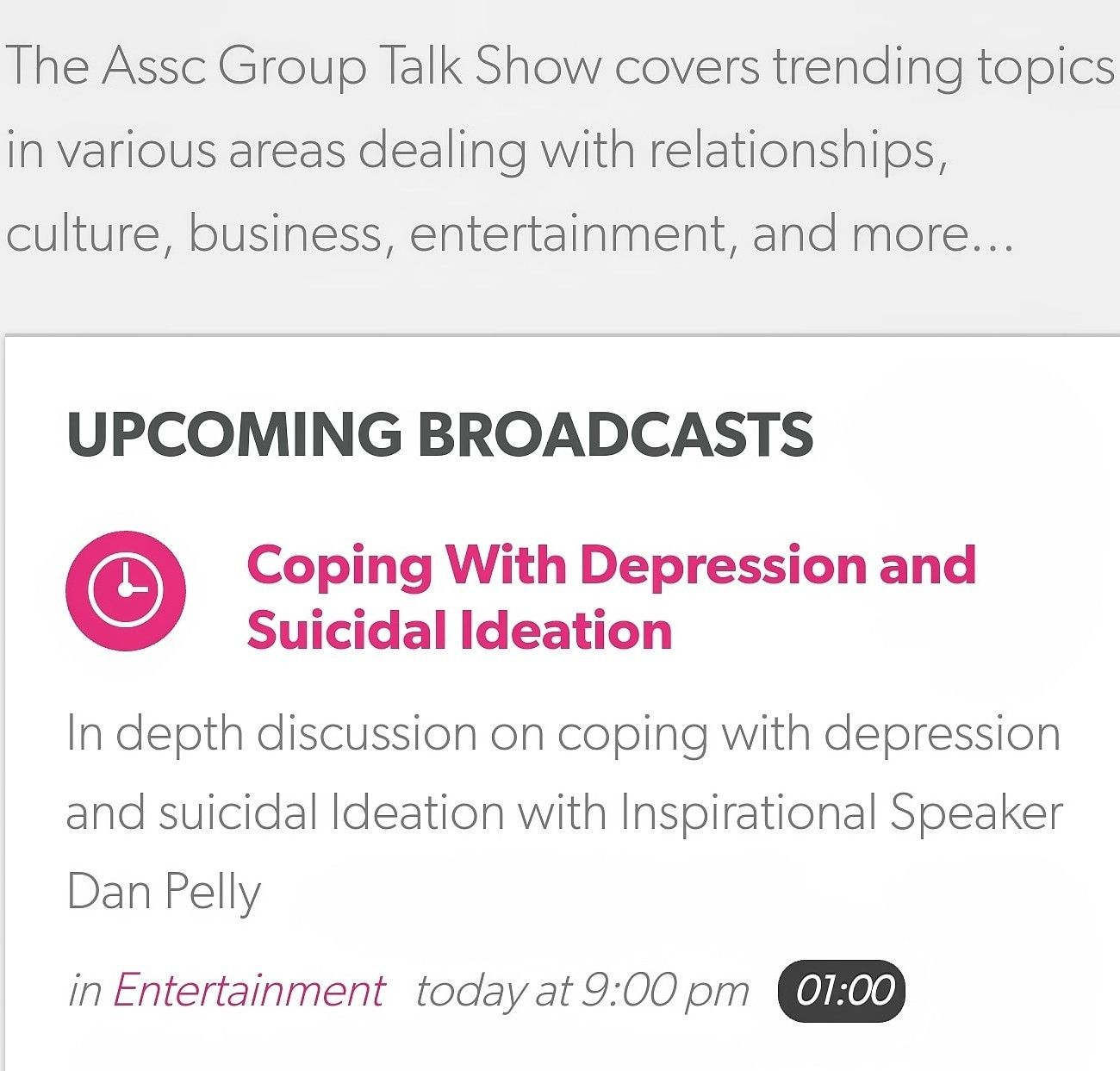 Dan Pelly Live Interview Tonight 9pm Est Assc Direct Quinn S Podcast Call I Inspirational Speaker Entertainment Today