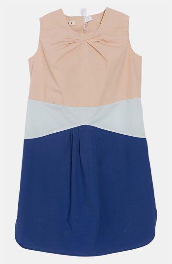 Marni Poplin Dress (Little Girls & Big Girls) | Nordstrom