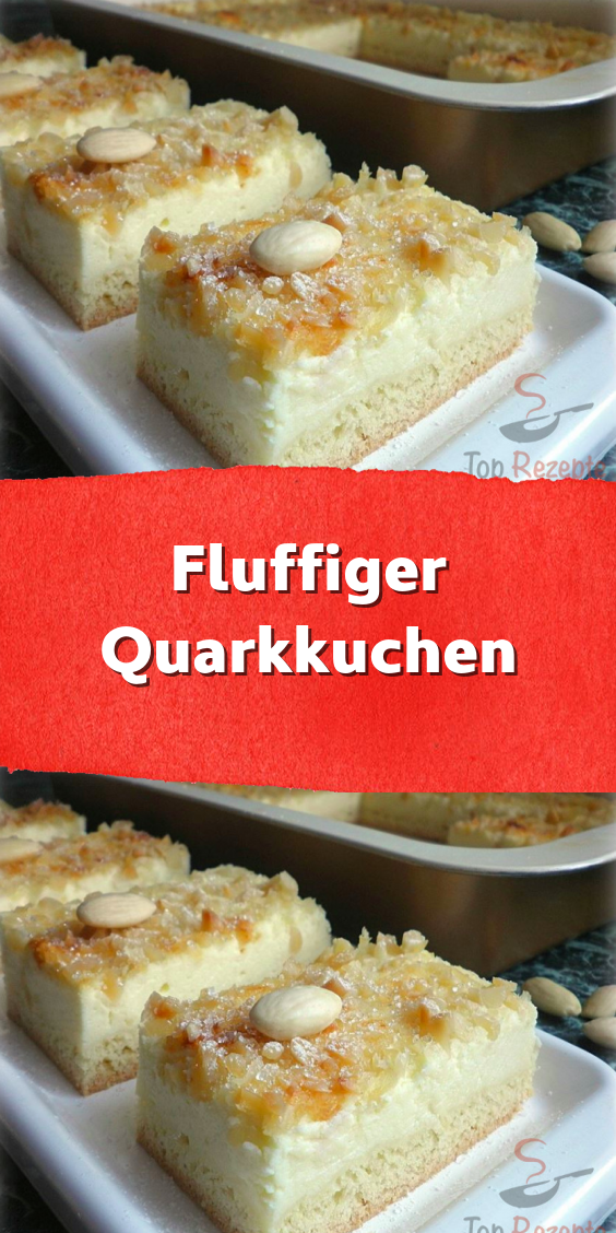 Photo of Fluffiger Quarkkuchen