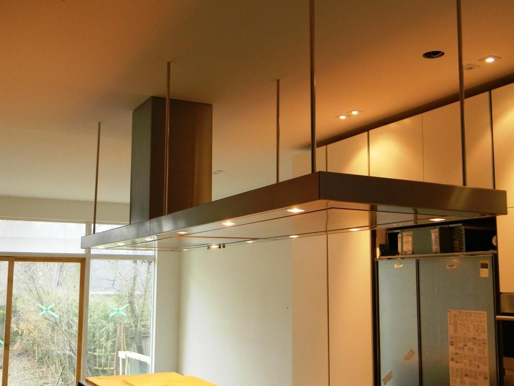 Range Hood Offset Suspended With Cables Chestnut Hill Pinterest Hoods Ranges And Pewter