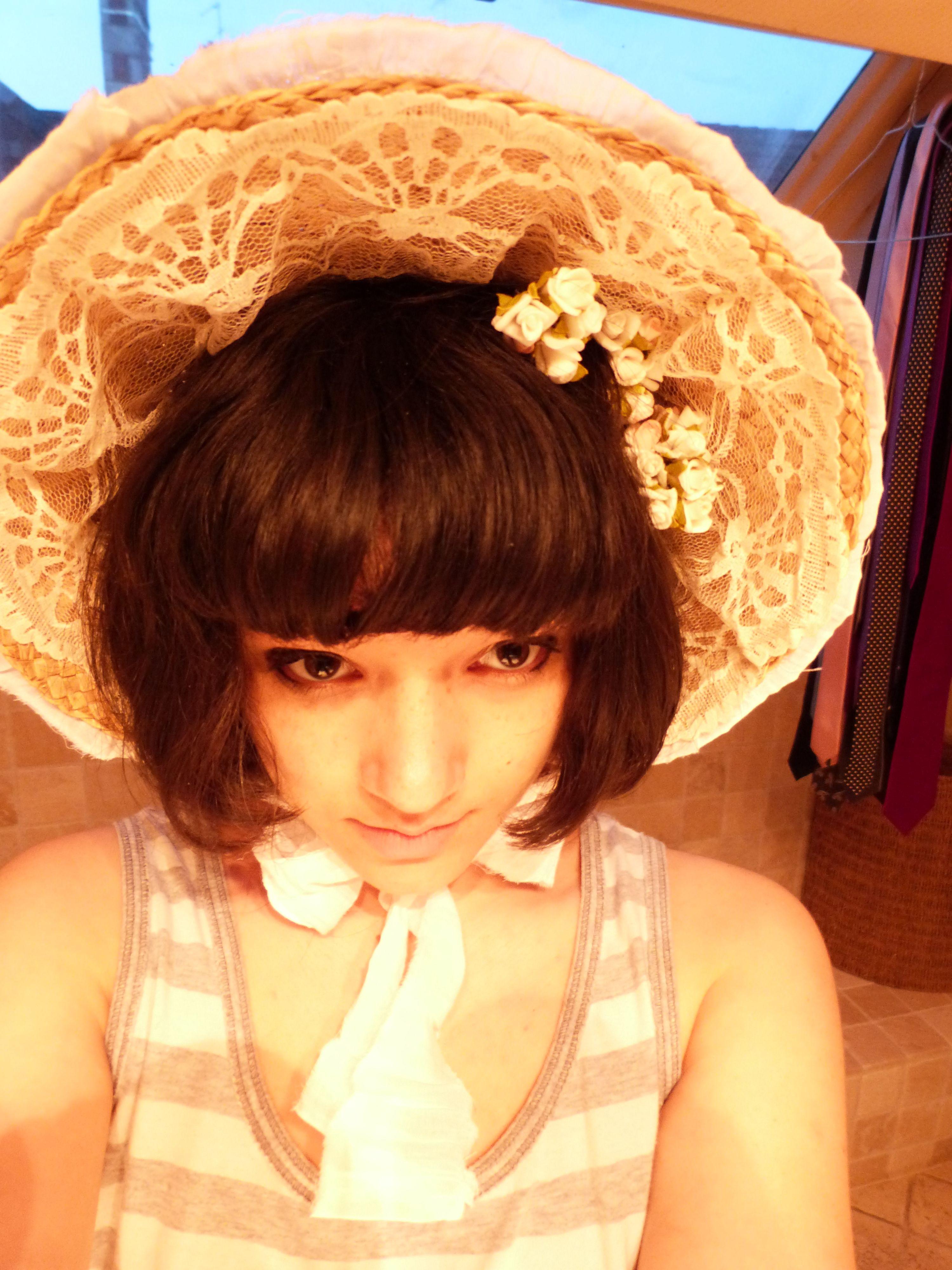 Diy lolita bonnet - Halloween perhaps!