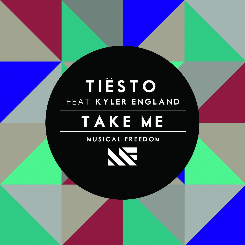 Tiësto, Kyler England – Take Me (single cover art)