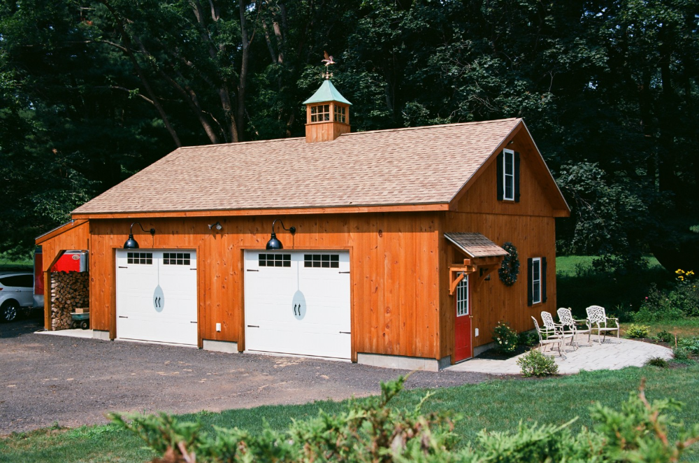 Roosevelt A Frame Style Single Story Garage The Barn Yard Great Country Garages In 2020 Pool Houses Custom Homes Custom Garages
